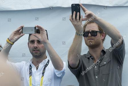 Nick Loughran (Deputy Press Secretary to Harry Prince William and Catherine Duchess of Cambridge) Prince Harry