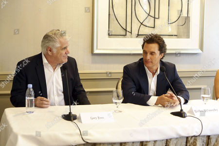 Stock Picture of Gary Ross, Matthew McConaughey