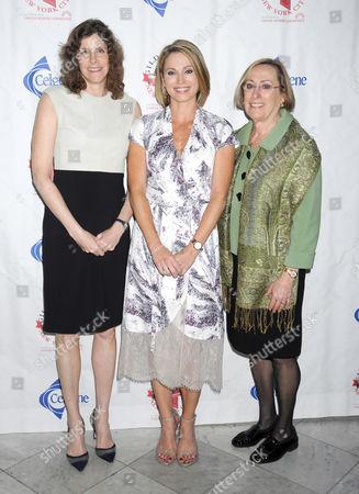 Jami Rubin, Amy Robach and Laura Bartlett