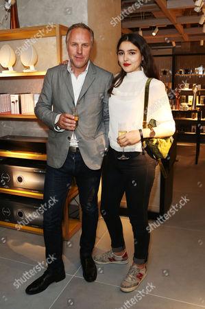 Lauren Mills and Simon Mills