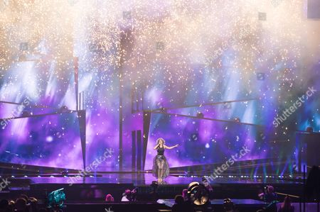 Rykka of Switzerland performs her song 'The Last of Our Kind'