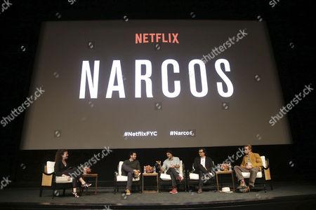 Stock Image of Luka Magnotta, Jose Padilha, Wagner Moura, Boyd Holbrook