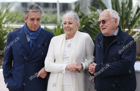 Stock Picture of Charles S Cohen, Vanessa Redgrave and Jim Ivory