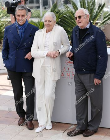 Charles S Cohen, Vanessa Redgrave and Jim Ivory