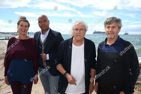 Nicole Bertolt, Santiago Zannou, Patrick Vian and Cedric Vian
