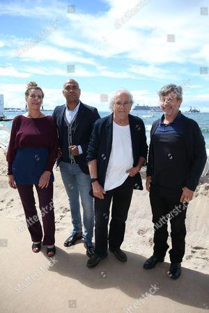 Stock Image of Nicole Bertolt, Santiago Zannou, Patrick Vian and Cedric Vian