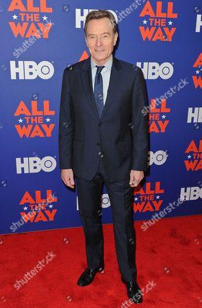 Actor and executive producer Bryan Cranston