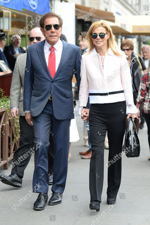 Editorial photo of Steve Wynn and Andrea Hissom out and about, New York, America - 12 May 2016