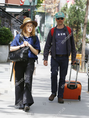 Stock Photo of Will Oldham with girlfriend