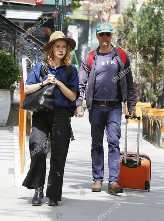 Stock Picture of Will Oldham with girlfriend