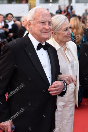 Stock Image of Vanessa Redgrave and Jim Ivory