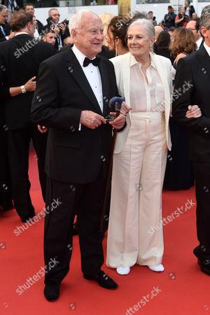 Stock Photo of Vanessa Redgrave and Jim Ivory