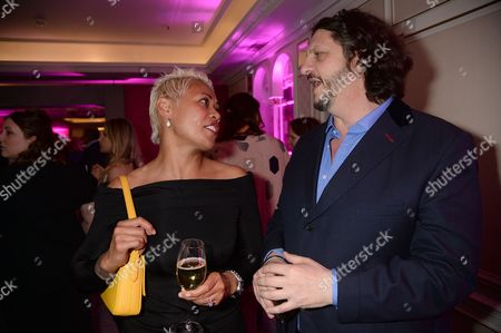Monica Galetti and Jay Rayner