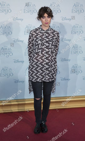 Editorial photo of 'Alice Through The Looking Glass' film premiere, Madrid, Spain - 12 May 2016