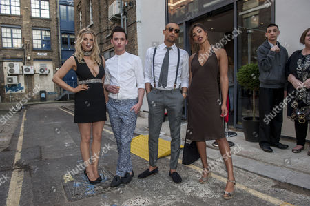 Ashley James, Lorcan London, Scott Saunders and Amika Ezer