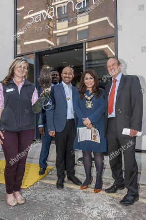 Stock Picture of Mayor of Camden Nadia Shah