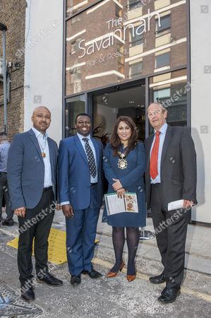 Editorial photo of Savannah bar and restaurant opening, London, Britain - 12 May 2016