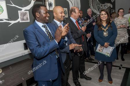 Stock Photo of Mayor of Camden Nadia Shah