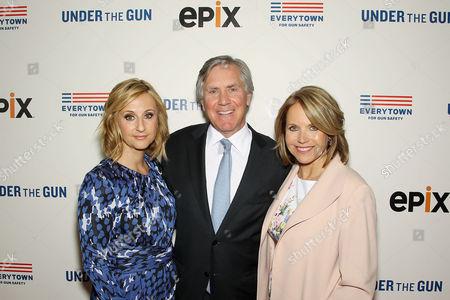 Stephanie Soechtig (Director), Mark Greenberg (CEO EPIX), Katie