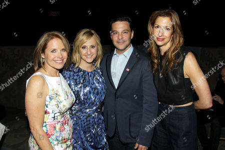 Katie Couric, Stephanie Soechtig, David Alan Basche and Alysia Reiner