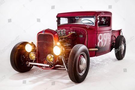 A Vintage 1933 Ford Pickup