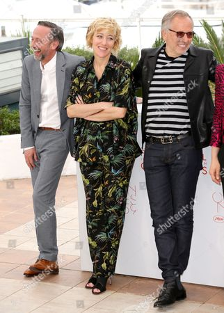Jean-Luc Vincent, Valeria Bruni Tedeschi and Fabrice Luchini