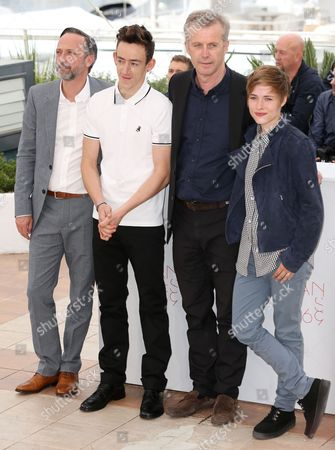 Jean-Luc Vincent, Brandon Lavieville, Bruno Dumont and Raph