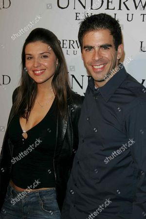 Barbara Nedeljakova and Eli Roth