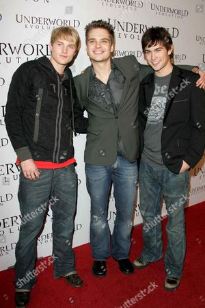 Toby Hemingway, Sebastian Stan and Chace Crawford
