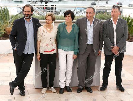 Jean-Christophe Berjon, Isabelle Frilley, Catherine Corsini, Alexander Rodnyansky and Jean-Marie Dreujou