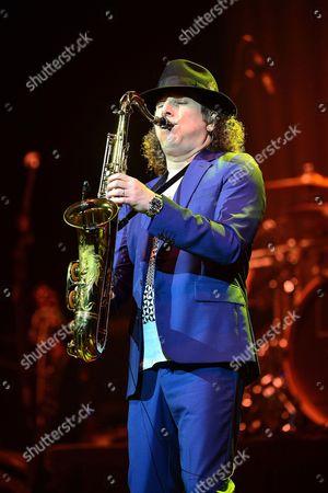 Editorial image of Boney James in concert at Hard Rock Live, Seminole Hard Rock Hotel and Casino, Hollywood, Florida, America - 12 May 2016