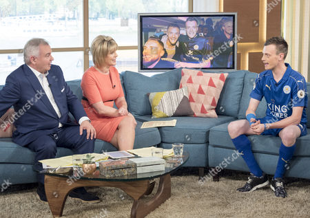 Eamonn Holmes and Ruth Langsford with Lee Chapman