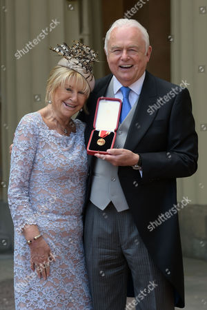Martyn Lewis receives a Knighthood for services to the Voluntary and Charitable Sectors particularly the Hospice Movement