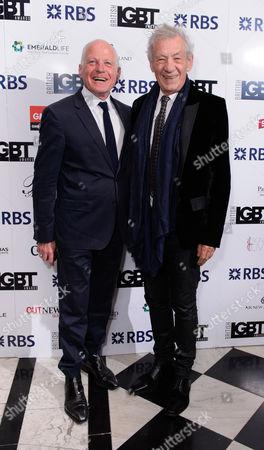 Michael Cashman and Sir Ian McKellen