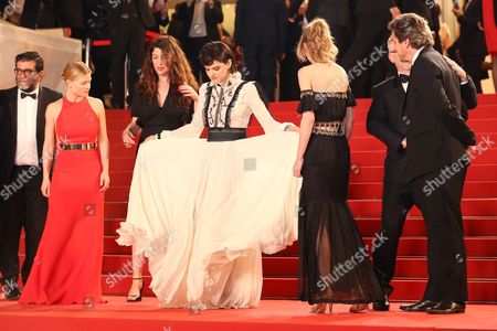 Melanie Thierry, Stephanie Di Giusto, Soko, Lily-Rose Melody Depp and Louis-Do de Lencquesaing
