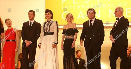 Melanie Thierry, Gaspard Ulliel, Soko, Lily-Rose Melody Depp and Louis-Do de Lencquesaing