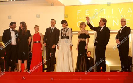Stephanie Di Giusto, Melanie Thierry, Gaspard Ulliel, Soko, Lily-Rose Melody Depp and Louis-Do de Lencquesaing