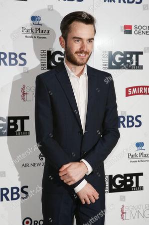 Editorial photo of The British LGBT Awards, London, Britain - 13 May 2016