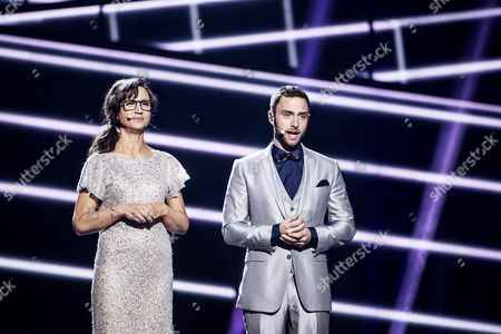 Petra Mede and Mans Zelmerlow