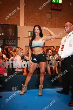 Michelle Lewin promoting Fit Fuel