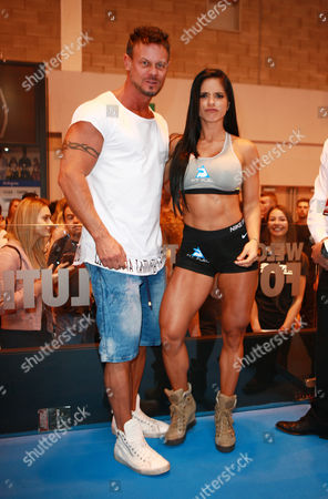 Michelle Lewin with her husband