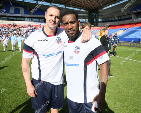 Redactionele foto van Football - Legends Match - Bolton Wanderers Community Trust XI v Bolton Wanderers Supporters Trust XI - 14 May 2016