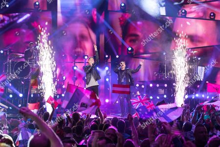 Editorial picture of Eurovision Song Contest, Final, Stockholm, Sweden - 14 May 2016