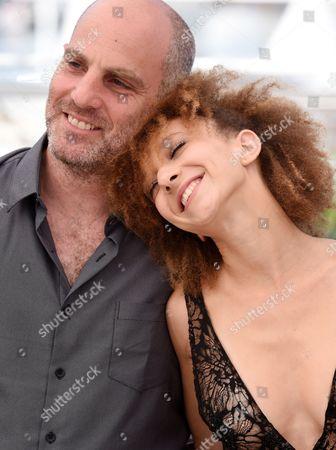 Stock Image of Eran Kolirin and Mili Eshet