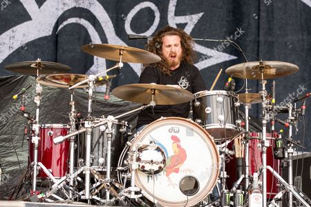 Stock Picture of Black Stone Cherry - John Fred Young