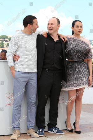 Sofian Khammes, Nailia Harzoune and director Karim Dridi