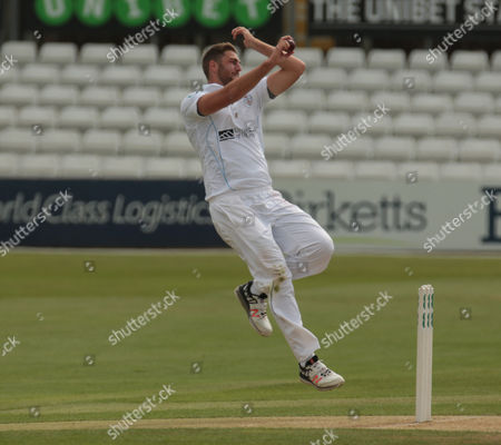 Derby's Ben Cotton  during Essex CCC against Derbyshire CCC, Day 2 of 4  Specsavers Count Championship Division 2 at the Essex County Ground on 16th May 2016