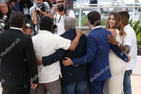 Jonathan Jakubowicz, Roberto Duran, Robert De Niro, Edgar Ramirez, Ana de Armas and Usher