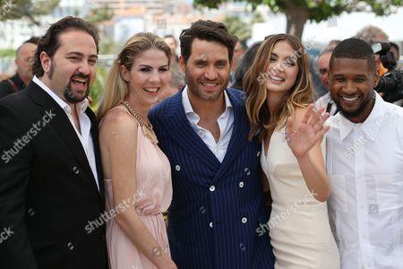 Jonathan Jakubowicz, Edgar Ramirez, Ana de Armas and Usher