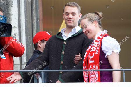 Stock Picture of Manuel Neuer, Tinja Riikka Korpela